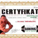 Certyfikat ukończenia kursu dla trenera personalnego w Łodzi