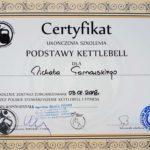 certyfikat kursu kettlebell