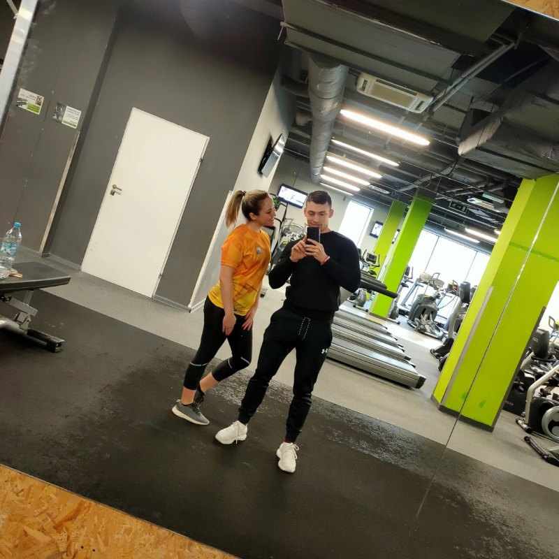Personal training at gym in Lodz Fitfabric