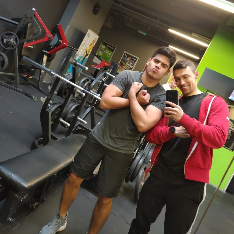 Personal training 2 at gym in Lodz Fitfabric