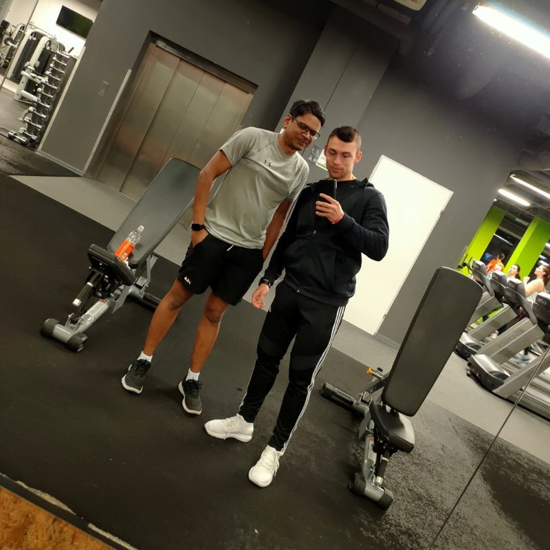 Personal training 4 at gym in Lodz Fitfabric