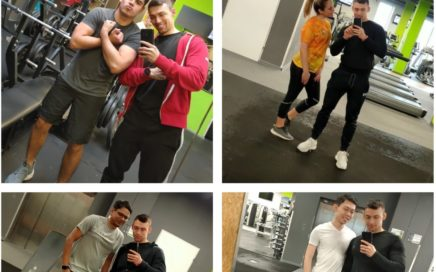 Personal training at gym in Lodz